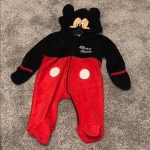 Mickey Mouse Fleece outfit